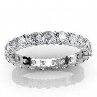 Our finely crafted diamond Eternity Rings are made with Rose